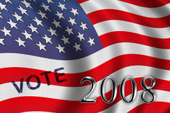 Vote 2008 Royalty Free Stock Images