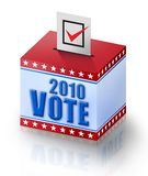 Vote 2010 Royalty Free Stock Photo
