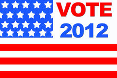 Vote 2012. Royalty Free Stock Photography