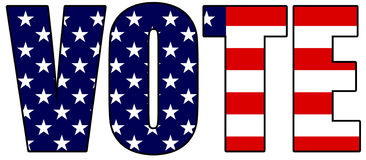 Vote 2012 Royalty Free Stock Images