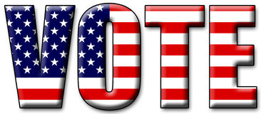 Vote 2012 Stock Photography