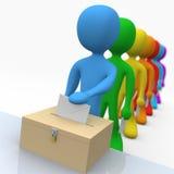 Vote illustration de vecteur