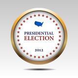 Vote. Voting Symbols 2012 vector design Royalty Free Stock Image