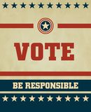 Vote. Voting Symbols 2012 vector design Stock Photos