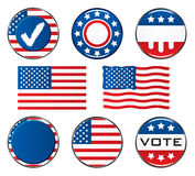 Vote. Icon Set. Easy To Edit Vector Image Stock Photos