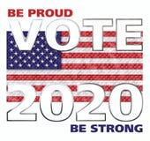 Vote Amérique 2018 Photo stock