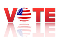 Vote America Royalty Free Stock Images