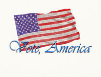 Vote America. Royalty Free Stock Photography