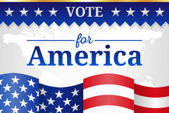 Vote for America Background Royalty Free Stock Images