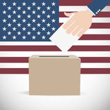 Vote for America Election Background Stock Photography