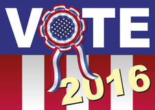 Vote american presidential elections Royalty Free Stock Images