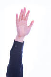 Vote augmenté de main Images libres de droits