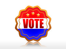 Vote badge Stock Images