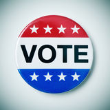 Vote badge for the United States election Royalty Free Stock Photography