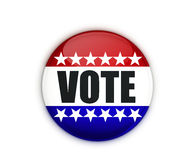 Vote. Badge on a white background royalty free stock photography