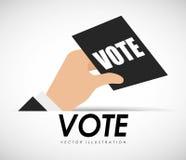 Vote ballot Royalty Free Stock Photo