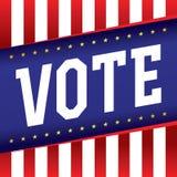 Vote Banner Illustration Royalty Free Stock Images