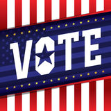 Vote Banner Illustration Royalty Free Stock Photography