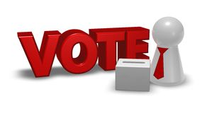 Vote box Stock Image