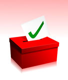 Vote boxe Royalty Free Stock Photos