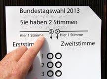 Vote Stock Image