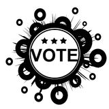 VOTE button Royalty Free Stock Photography