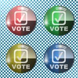 Vote button,icon, sign,3D illustration. Vote button,icon, best 3D illustration Royalty Free Stock Images