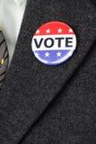 Vote button Royalty Free Stock Photo