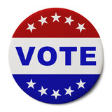Vote Button Stock Photo