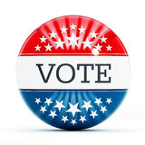 Vote button Royalty Free Stock Photo