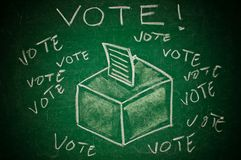 Vote concept Royalty Free Stock Photography