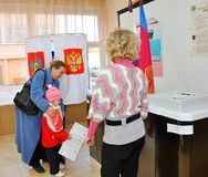 Vote dans les élections photographie stock libre de droits