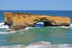 Voûte de Londres, route grande d'océan, Australie Photo libre de droits