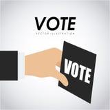 Vote design Royalty Free Stock Photo