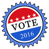 Vote 2016 Royalty Free Stock Images