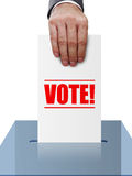 Vote Royalty Free Stock Images