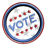 Vote icon Royalty Free Stock Image