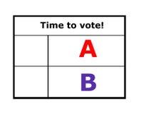 Vote. Stock Image