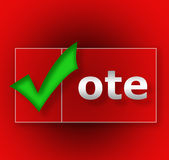 Vote. Royalty Free Stock Images