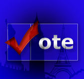 Vote. Royalty Free Stock Image
