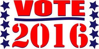 Vote 2016 Royalty Free Stock Photo