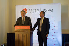 Vote Leave event 01 royalty free stock photo