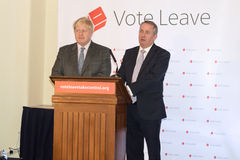 Vote Leave event 04 royalty free stock photography