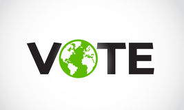 Vote letter concept Royalty Free Stock Image
