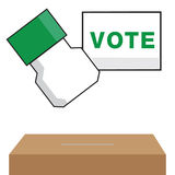 Vote. This is vote logo on white background Royalty Free Stock Images