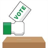 Vote. This is vote logo on white background Royalty Free Stock Photo