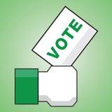 Vote. This is vote logo on white background Stock Photo