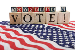 Vote!  Nov 6 Stock Images