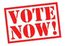 VOTE NOW! Royalty Free Stock Images