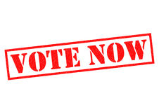 VOTE NOW Stock Photography